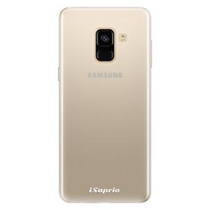 Silikonové pouzdro iSaprio 4Pure mléčné bez potisku na mobil Samsung Galaxy A8 2018