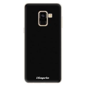 Silikonové pouzdro iSaprio 4Pure černé na mobil Samsung Galaxy A8 2018