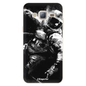 Silikonové pouzdro iSaprio (mléčně zakalené) Astronaut 02 na mobil Samsung Galaxy J3 2016