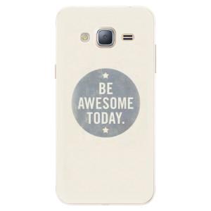 Silikonové pouzdro iSaprio (mléčně zakalené) Awesome 02 na mobil Samsung Galaxy J3 2016