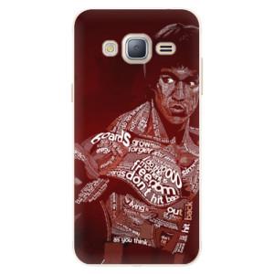 Silikonové pouzdro iSaprio (mléčně zakalené) Bruce Lee na mobil Samsung Galaxy J3 2016