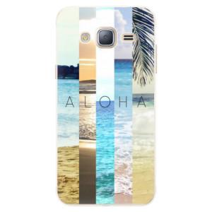 Silikonové pouzdro iSaprio (mléčně zakalené) Aloha 02 na mobil Samsung Galaxy J3 2016