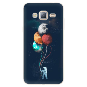 Silikonové pouzdro iSaprio (mléčně zakalené) Balónky 02 na mobil Samsung Galaxy J3 2016