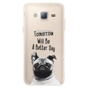 Silikonové pouzdro iSaprio (mléčně zakalené) Better Day 01 na mobil Samsung Galaxy J3 2016