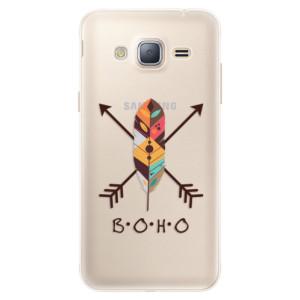 Silikonové pouzdro iSaprio (mléčně zakalené) BOHO na mobil Samsung Galaxy J3 2016