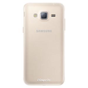 Silikonové pouzdro iSaprio 4Pure mléčné bez potisku na mobil Samsung Galaxy J3 2016