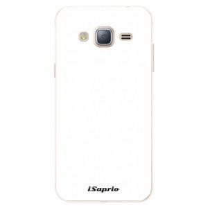 Silikonové pouzdro iSaprio 4Pure bílé na mobil Samsung Galaxy J3 2016