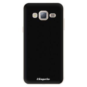 Silikonové pouzdro iSaprio 4Pure černé na mobil Samsung Galaxy J3 2016