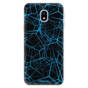 Silikonové pouzdro iSaprio (mléčně zakalené) Abstract Outlines 12 na mobil Samsung Galaxy J3 2017