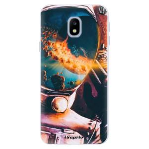 Silikonové pouzdro iSaprio (mléčně zakalené) Astronaut 01 na mobil Samsung Galaxy J3 2017