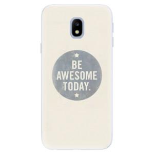 Silikonové pouzdro iSaprio (mléčně zakalené) Awesome 02 na mobil Samsung Galaxy J3 2017