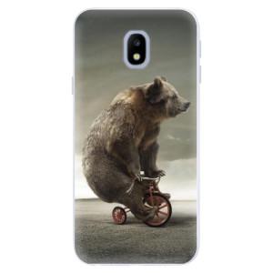 Silikonové pouzdro iSaprio (mléčně zakalené) Medvěd 01 na mobil Samsung Galaxy J3 2017
