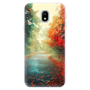 Silikonové pouzdro iSaprio (mléčně zakalené) Podzim 03 na mobil Samsung Galaxy J3 2017