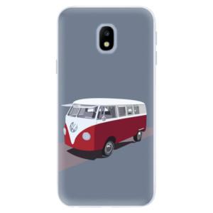 Silikonové pouzdro iSaprio (mléčně zakalené) VW Bus na mobil Samsung Galaxy J3 2017