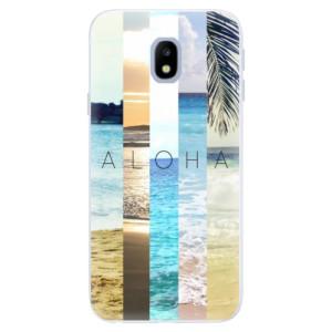Silikonové pouzdro iSaprio (mléčně zakalené) Aloha 02 na mobil Samsung Galaxy J3 2017