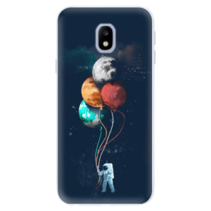 Silikonové pouzdro iSaprio (mléčně zakalené) Balónky 02 na mobil Samsung Galaxy J3 2017
