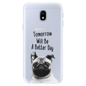 Silikonové pouzdro iSaprio (mléčně zakalené) Better Day 01 na mobil Samsung Galaxy J3 2017