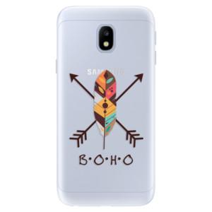 Silikonové pouzdro iSaprio (mléčně zakalené) BOHO na mobil Samsung Galaxy J3 2017