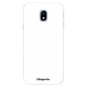 Silikonové pouzdro iSaprio 4Pure bílé na mobil Samsung Galaxy J3 2017