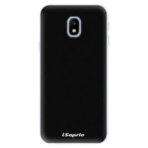 Silikonové pouzdro iSaprio 4Pure černé na mobil Samsung Galaxy J3 2017