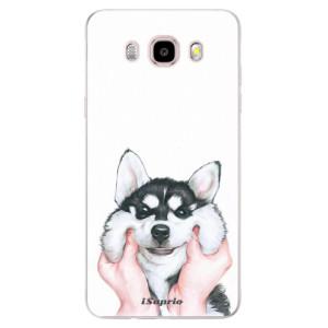 Silikonové pouzdro iSaprio (mléčně zakalené) - Malamute 01 na mobil Samsung Galaxy J5 2016