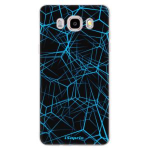 Silikonové pouzdro iSaprio (mléčně zakalené) Abstract Outlines 12 na mobil Samsung Galaxy J5 2016