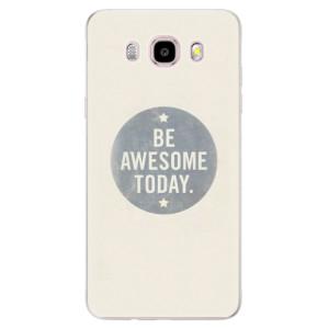 Silikonové pouzdro iSaprio (mléčně zakalené) Awesome 02 na mobil Samsung Galaxy J5 2016
