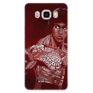 Silikonové pouzdro iSaprio (mléčně zakalené) - Bruce Lee na mobil Samsung Galaxy J5 2016