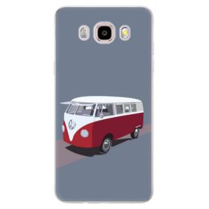Silikonové pouzdro iSaprio (mléčně zakalené) - VW Bus na mobil Samsung Galaxy J5 2016