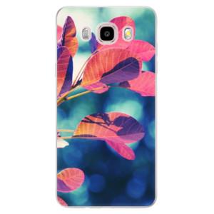 Silikonové pouzdro iSaprio (mléčně zakalené) Podzim 01 na mobil Samsung Galaxy J5 2016