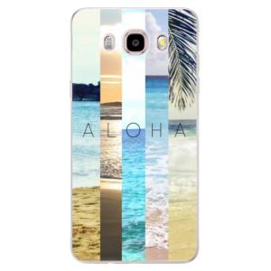 Silikonové pouzdro iSaprio (mléčně zakalené) Aloha 02 na mobil Samsung Galaxy J5 2016