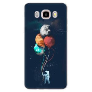 Silikonové pouzdro iSaprio (mléčně zakalené) Balónky 02 na mobil Samsung Galaxy J5 2016