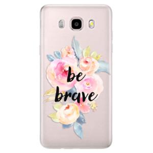 Silikonové pouzdro iSaprio (mléčně zakalené) - Be Brave na mobil Samsung Galaxy J5 2016