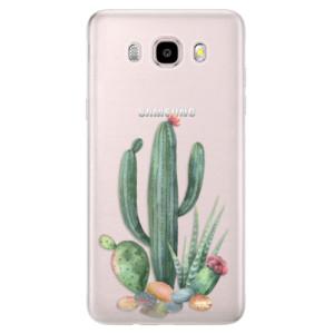 Silikonové pouzdro iSaprio (mléčně zakalené) - Cacti 02 na mobil Samsung Galaxy J5 2016