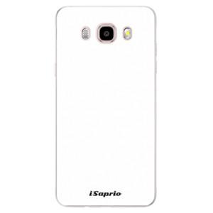 Silikonové pouzdro iSaprio 4Pure bílé na mobil Samsung Galaxy J5 2016