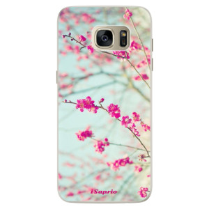 Silikonové pouzdro iSaprio (mléčně zakalené) Blossom 01 na mobil Samsung Galaxy S7