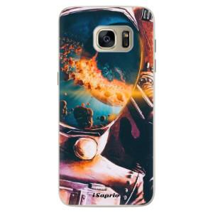 Silikonové pouzdro iSaprio (mléčně zakalené) Astronaut 01 na mobil Samsung Galaxy S7