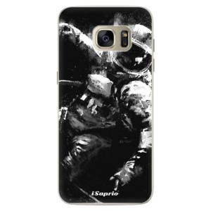 Silikonové pouzdro iSaprio (mléčně zakalené) Astronaut 02 na mobil Samsung Galaxy S7