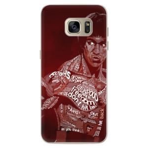 Silikonové pouzdro iSaprio (mléčně zakalené) Bruce Lee na mobil Samsung Galaxy S7