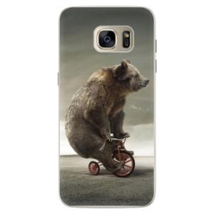 Silikonové pouzdro iSaprio (mléčně zakalené) Medvěd 01 na mobil Samsung Galaxy S7