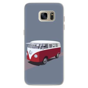 Silikonové pouzdro iSaprio (mléčně zakalené) VW Bus na mobil Samsung Galaxy S7