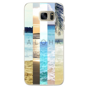 Silikonové pouzdro iSaprio (mléčně zakalené) Aloha 02 na mobil Samsung Galaxy S7