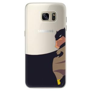 Silikonové pouzdro iSaprio (mléčně zakalené) BaT Komiks na mobil Samsung Galaxy S7