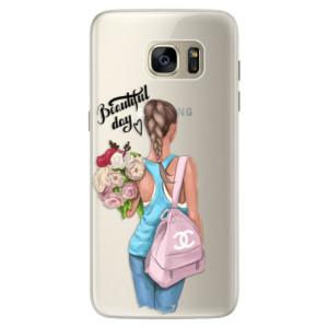 Silikonové pouzdro iSaprio (mléčně zakalené) Beautiful Day na mobil Samsung Galaxy S7