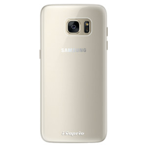 Silikonové pouzdro iSaprio 4Pure mléčné bez potisku na mobil Samsung Galaxy S7