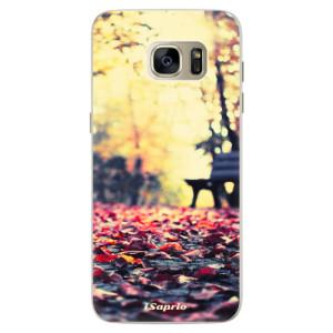 Silikonové pouzdro iSaprio (mléčně zakalené) Bench 01 na mobil Samsung Galaxy S7 Edge
