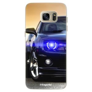 Silikonové pouzdro iSaprio (mléčně zakalené) Chevrolet 01 na mobil Samsung Galaxy S7 Edge