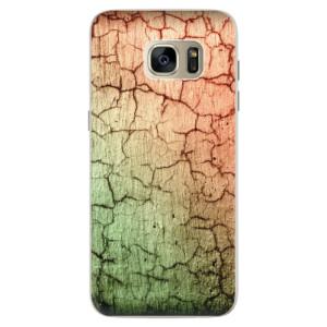 Silikonové pouzdro iSaprio (mléčně zakalené) Rozpraskaná Zeď 01 na mobil Samsung Galaxy S7 Edge