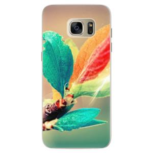 Silikonové pouzdro iSaprio (mléčně zakalené) Podzim 02 na mobil Samsung Galaxy S7 Edge