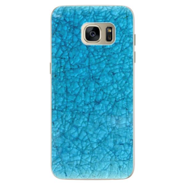 Silikonové pouzdro iSaprio (mléčně zakalené) Rozbité Sklo na mobil Samsung Galaxy S7 Edge (Silikonový kryt, obal, pouzdro iSaprio (podkladové pouzdro není čiré, ale lehce mléčně zakalené) Rozbité Sklo na mobilní telefon Samsung Galaxy S7 Edge)